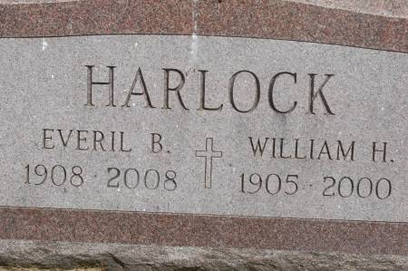 HARLOCK, WILLIAM H. - Clinton County, Iowa   WILLIAM H. HARLOCK