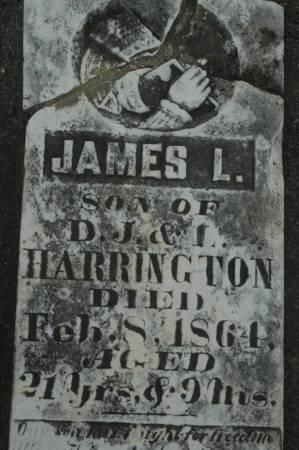 HARRINGTON, JAMES L. - Clinton County, Iowa   JAMES L. HARRINGTON