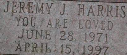 HARRIS, JEREMY J. - Clinton County, Iowa   JEREMY J. HARRIS