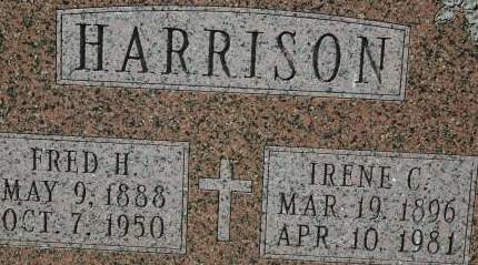 HARRISON, IRENE C. - Clinton County, Iowa | IRENE C. HARRISON