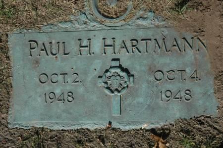 HARTMANN, PAUL H. - Clinton County, Iowa | PAUL H. HARTMANN
