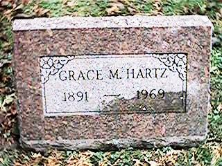 HARTZ, GRACE M. - Clinton County, Iowa | GRACE M. HARTZ
