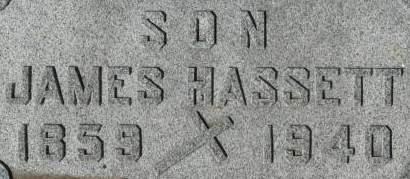 HASSETT, JAMES - Clinton County, Iowa | JAMES HASSETT