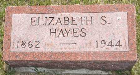 HAYES, ELIZABETH S. - Clinton County, Iowa | ELIZABETH S. HAYES