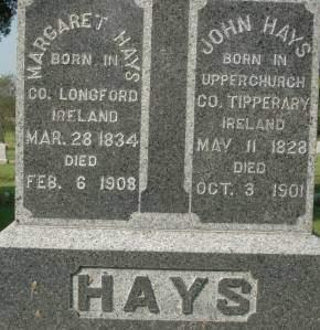 HAYS, JOHN - Clinton County, Iowa | JOHN HAYS