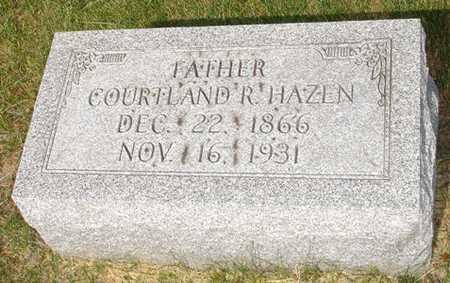 HAZEN, CORTLAND - Clinton County, Iowa   CORTLAND HAZEN