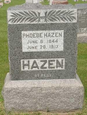 HAZEN, PHOEBE - Clinton County, Iowa | PHOEBE HAZEN