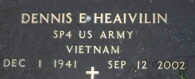 HEAIVILIN, DENNIS E. - Clinton County, Iowa | DENNIS E. HEAIVILIN