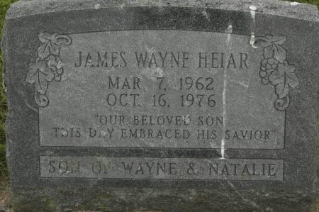 HEIAR, JAMES WAYNE - Clinton County, Iowa | JAMES WAYNE HEIAR
