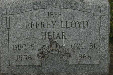HEIAR, JEFFREY LLOYD - Clinton County, Iowa   JEFFREY LLOYD HEIAR
