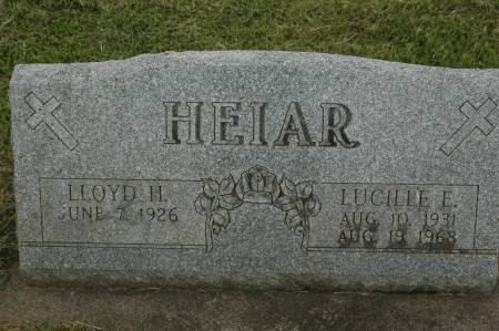 HEIAR, LLOYD H. - Clinton County, Iowa | LLOYD H. HEIAR