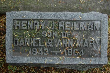 HEILMAN, HENRY J. - Clinton County, Iowa | HENRY J. HEILMAN