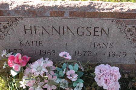 HENNINGSEN, HANS - Clinton County, Iowa | HANS HENNINGSEN