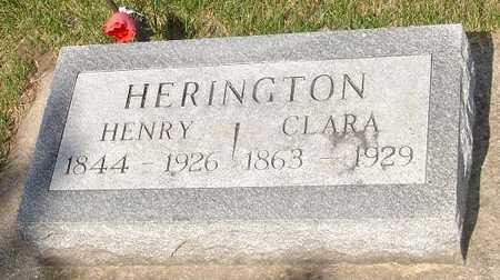 HERINGTON, CLARA - Clinton County, Iowa | CLARA HERINGTON