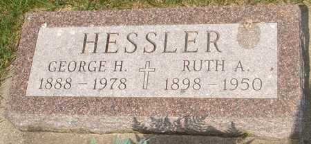 HESSLER, RUTH A. - Clinton County, Iowa   RUTH A. HESSLER