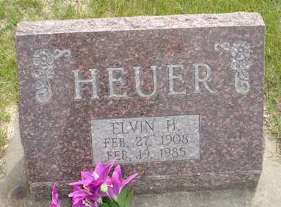 HEUER, ELVIN H. - Clinton County, Iowa   ELVIN H. HEUER