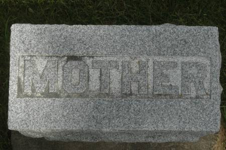 HICKS, MOTHER - Clinton County, Iowa   MOTHER HICKS