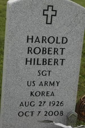 HILBERT, HAROLD ROBERT - Clinton County, Iowa   HAROLD ROBERT HILBERT