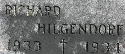 HILGENDORF, RICHARD - Clinton County, Iowa | RICHARD HILGENDORF