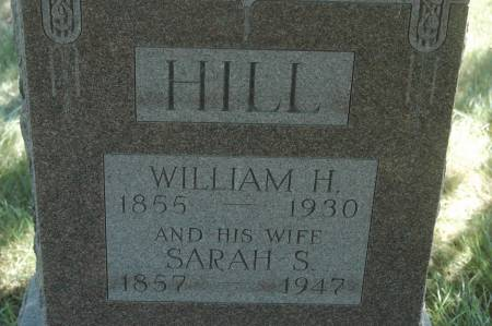 HILL, SARAH S. - Clinton County, Iowa | SARAH S. HILL