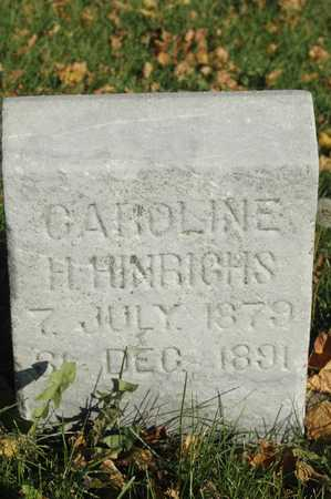 HINRICHS, CAROLINE - Clinton County, Iowa   CAROLINE HINRICHS