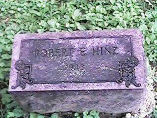 HINZ, ROBERT E - Clinton County, Iowa | ROBERT E HINZ