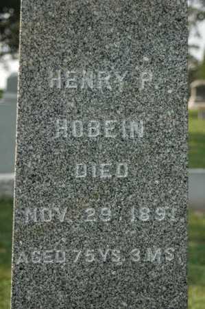 HOBEIN, HENRY P. - Clinton County, Iowa | HENRY P. HOBEIN