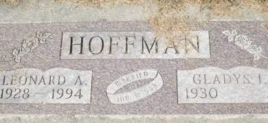 HOFFMAN, LEONARD A. - Clinton County, Iowa | LEONARD A. HOFFMAN