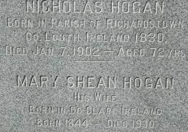 HOGAN, MARY - Clinton County, Iowa | MARY HOGAN