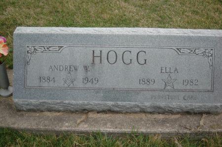 HOGG, ELLA - Clinton County, Iowa   ELLA HOGG