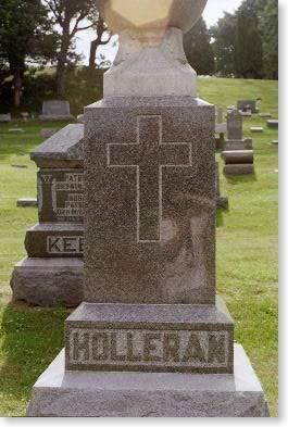 HOLLERAN, MONUMENT - Clinton County, Iowa | MONUMENT HOLLERAN