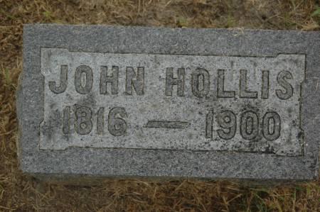 HOLLIS, JOHN - Clinton County, Iowa   JOHN HOLLIS