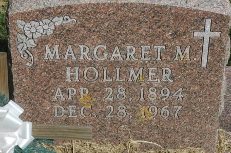 HOLLMER, MARGARET M. - Clinton County, Iowa   MARGARET M. HOLLMER