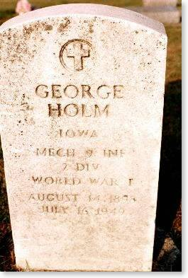 HOLM, GEORGE - Clinton County, Iowa | GEORGE HOLM