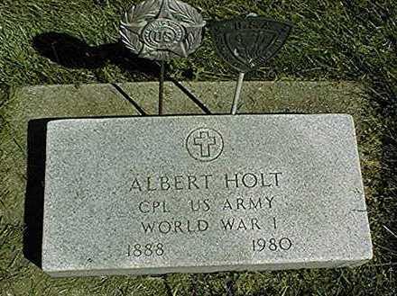 HOLT, ALBERT - Clinton County, Iowa | ALBERT HOLT