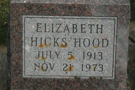 HOOD, ELIZABETH - Clinton County, Iowa | ELIZABETH HOOD