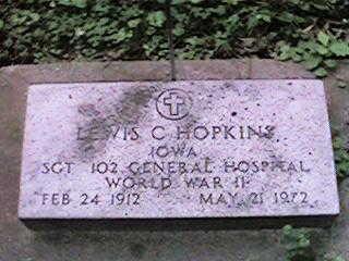 HOPKINS, LEWIS C - Clinton County, Iowa | LEWIS C HOPKINS