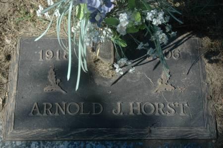 HORST, ARNOLD J. - Clinton County, Iowa | ARNOLD J. HORST