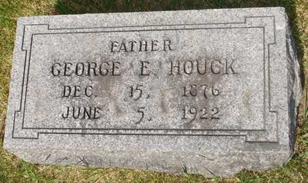 HOUCK, GEORGE E. - Clinton County, Iowa | GEORGE E. HOUCK
