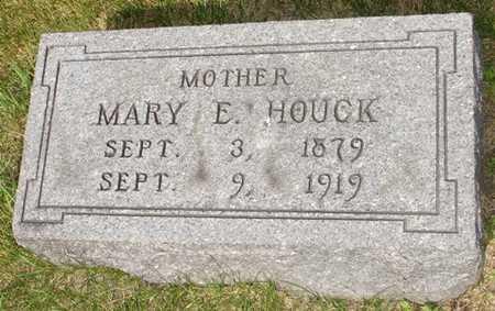 HOUCK, MARY E. - Clinton County, Iowa | MARY E. HOUCK