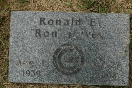 HOVEY, RONALD E. - Clinton County, Iowa   RONALD E. HOVEY