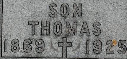 HOWE, THOMAS - Clinton County, Iowa   THOMAS HOWE