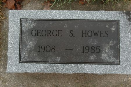 HOWES, GEORGE S. - Clinton County, Iowa   GEORGE S. HOWES