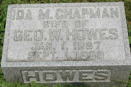 HOWES, IDA M. - Clinton County, Iowa | IDA M. HOWES