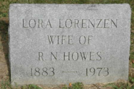 LORENZEN HOWES, LORA - Clinton County, Iowa | LORA LORENZEN HOWES