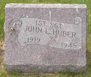 HUBER, JOHN L. - Clinton County, Iowa | JOHN L. HUBER