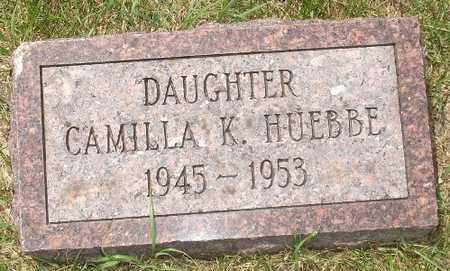 HUEBBE, CAMILLA K. - Clinton County, Iowa   CAMILLA K. HUEBBE