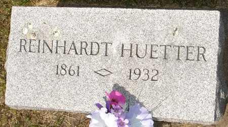 HUETTER, REINHARDT - Clinton County, Iowa | REINHARDT HUETTER
