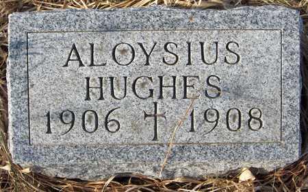 HUGHES, ALOYSIUS - Clinton County, Iowa   ALOYSIUS HUGHES