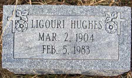 HUGHES, LIGOURI - Clinton County, Iowa   LIGOURI HUGHES